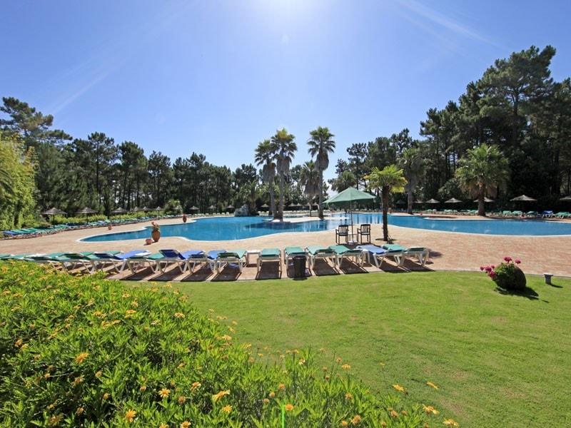 La piscine publique du golf d'Aroeira