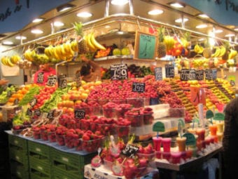 Fresh fruits and vegetables at low cost in Portugal